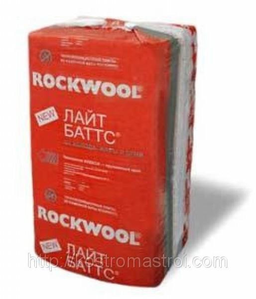 Утеплитель Rockwool Лайт Баттс (1000х600х100), 0,3м3