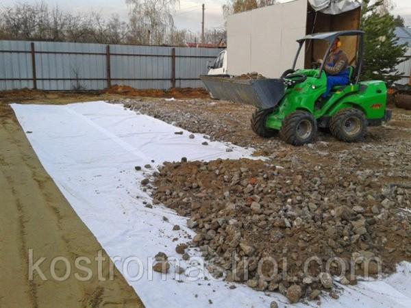 Отсыпка территории песком