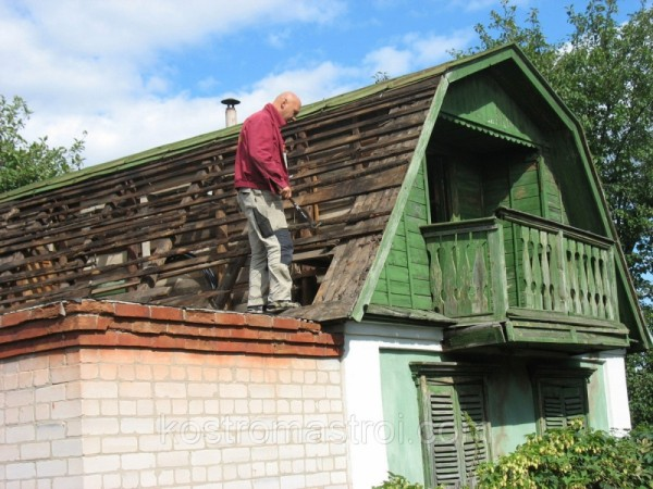 Реконструкция крыши