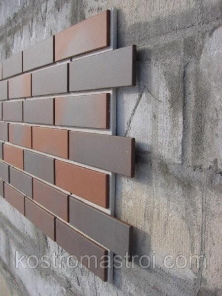 Фасадная клинкерная плитка