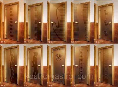 Банные двери стеклянные